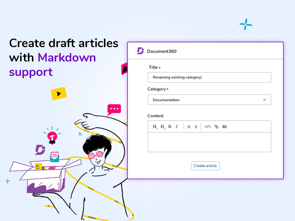 Create articles